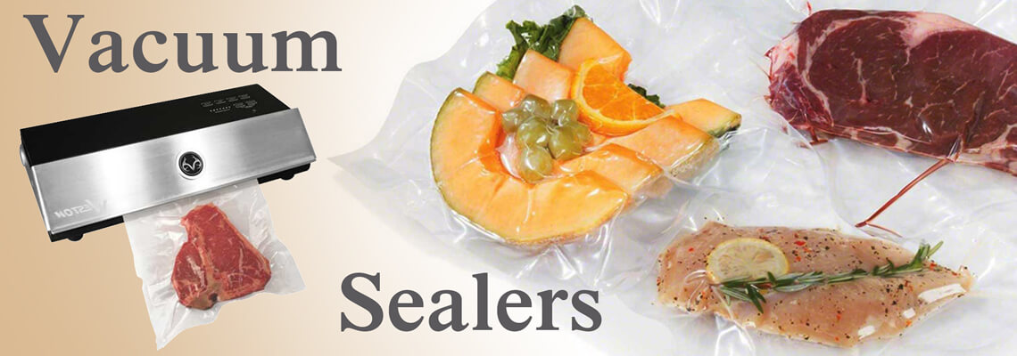 Keep food fresher for longer, see our range of vacuum sealers!
