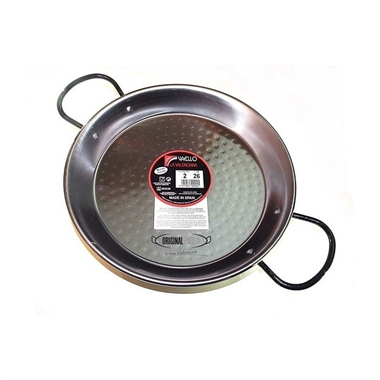 Polished Steel Paella Pan - Paellera Valencian