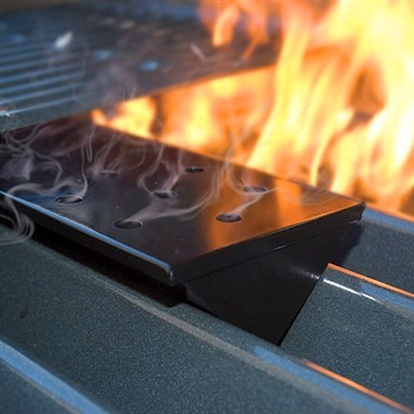 Small Nonstick V-Shaped Smoker Box for Gas BBQ