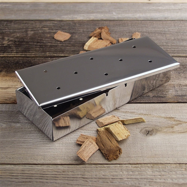 Bbq Wood Chips ~ Bbq smoker box
