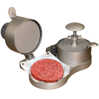 Double Burger Press and Burger Maker