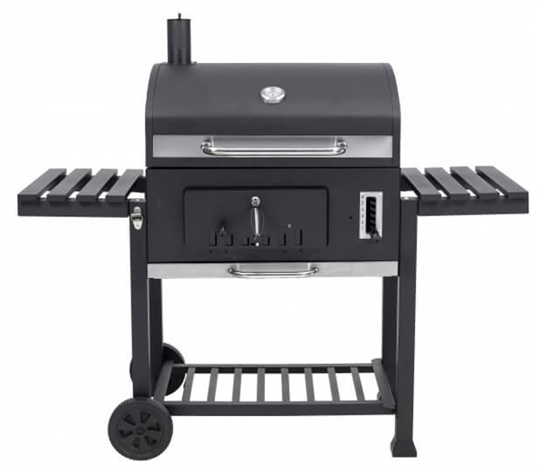 Grill Toronto Xxl : toronto xxl charcoal bbq grill with side tables ~ Whattoseeinmadrid.com Haus und Dekorationen