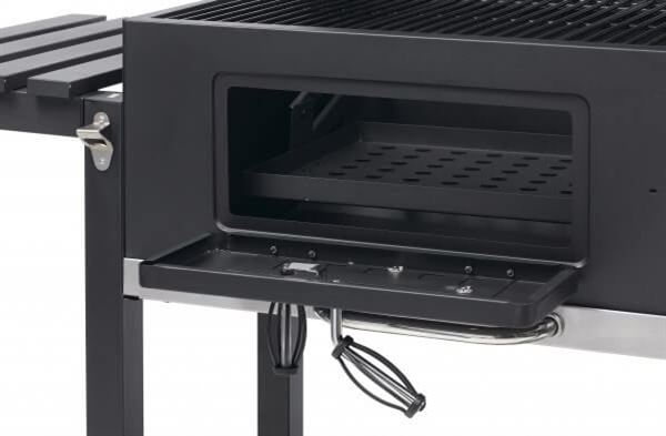 Toronto Xxl Charcoal Bbq Grill With Side Tables