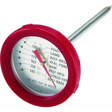 BBQ Meat Thermometer with Silicone bezel