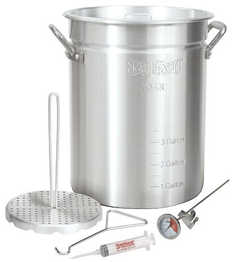 Bayou Classic Turkey Fryer Pot 30 Quart Aluminum