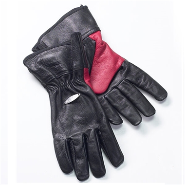 Bon-fire Leather Grilling Gloves