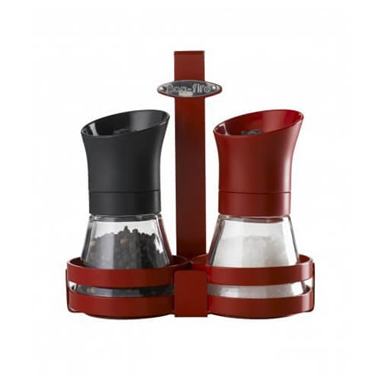 Bon-fire Spice Mills with Attachable Rack