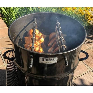 BBQ Barrel Smoker and Pit Grill
