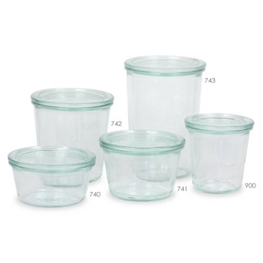 Weck Preserving Jar 741 SET OF SIX 370ml