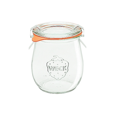 Weck Preserving Jar 762 SET OF TWELVE Small 220ml