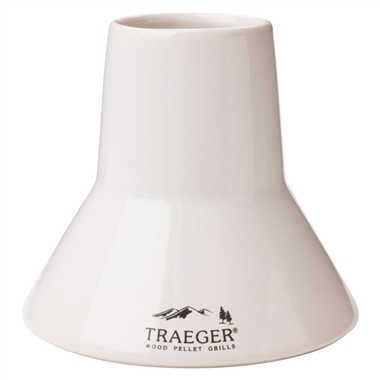 Traeger Beer Can Porcelain Chicken Throne