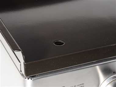 Gas 3 Burner Plancha BBQ Griddle in Stainless Steel