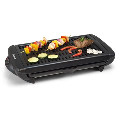 Electric BBQ Grill - Die cast aluminum grill plate