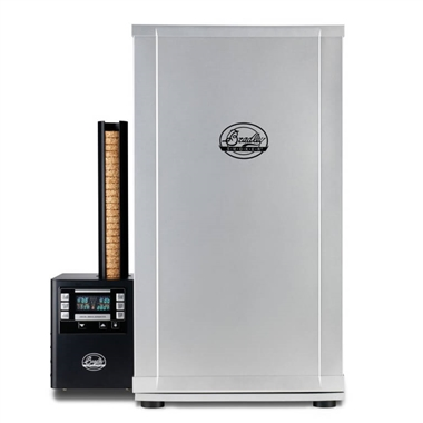 Bradley 4 Rack Digital Silver Smoker