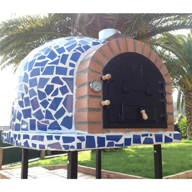 Garden Outdoor Pizza Oven Mosaic Effect