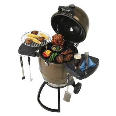 Broil King Steel Keg BKK4000 Charcoal BBQ Grill