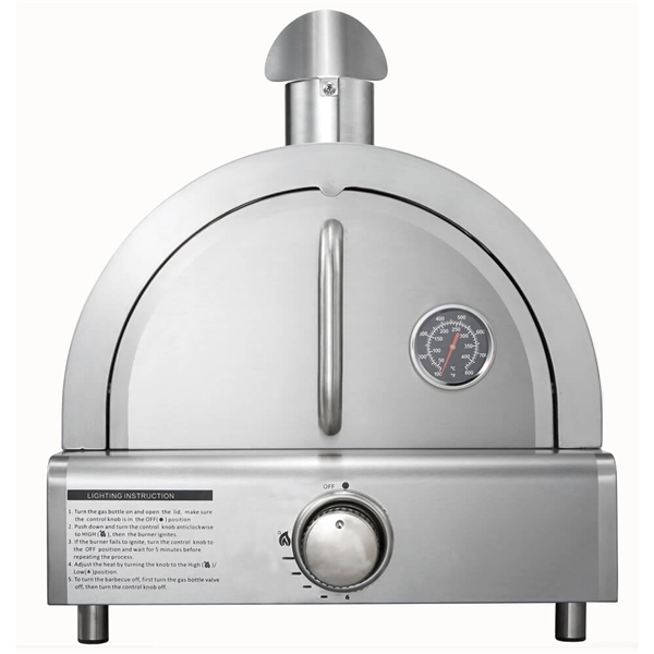 Stainless Steel Pizza Oven for Table Top