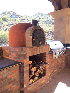 Outdoor Wood Fired Pizza Oven Mediterrani Royal