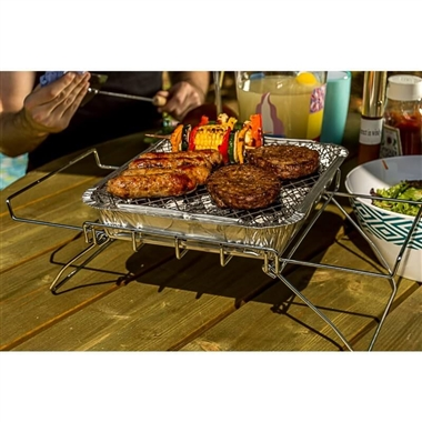 Bar-be-Quick Disposable BBQ Stand