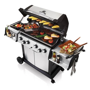 Broilking Sovereign 90XL 4 Burner Gas Barbecue