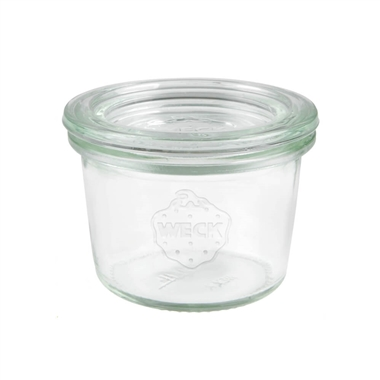Weck Preserving Jar 080 SET OF TWELVE Small 80ml